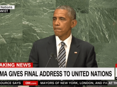 Obama says we should give up freedom, submit to world government