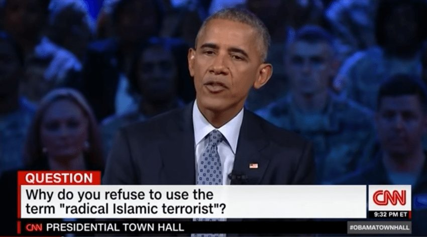 "Obama - Not saying ""radical Islamic terrorism"" a manufactured controversy."