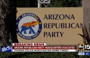 GOP bomb threat