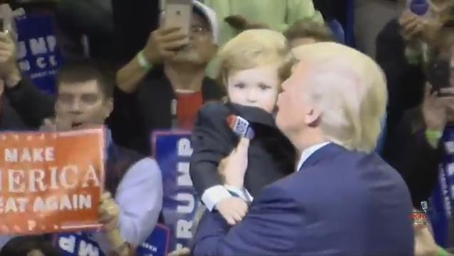 Trump mini-me. (Youtube)