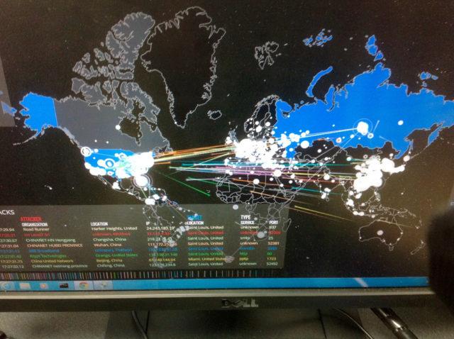cyber attack on Russia