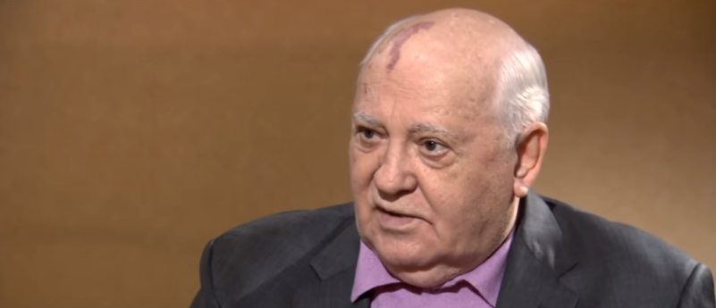 Gorbachev: 'World is at 'dangerous point' amid US-Russian face off over Syria'