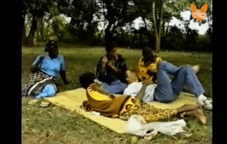 Obama in Kenya in 1990 video.