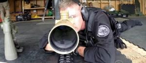 Sniper target looks a lot like Donald Trump