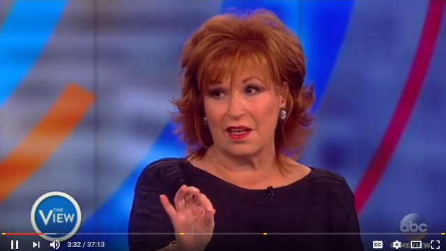 Joy Behar says Clinton's victims are tramps.