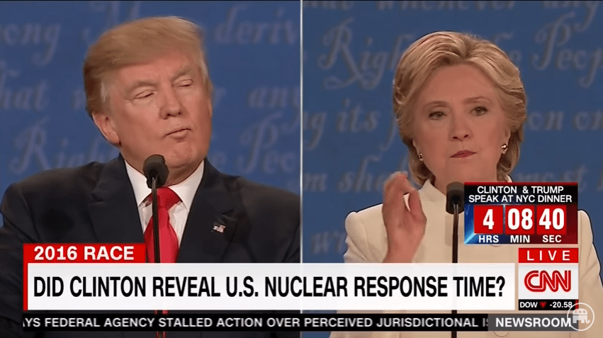 Hillary nuclear response time