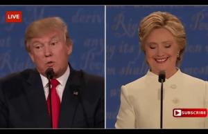 Clinton laughs