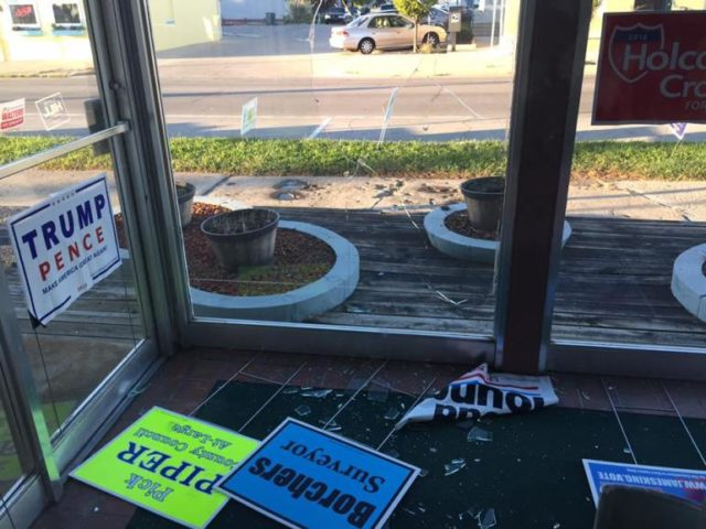 Delaware County GOP office attacked by