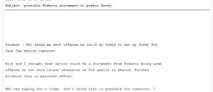 discredit Gowdy