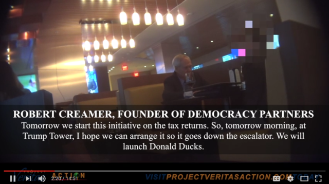 O'Keefe, video, Hillary Clinton, Donald Ducks, illegal