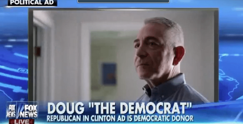 Fake Republican in new Hillary ad.