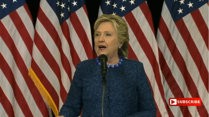 Hillary lies about Comey letter