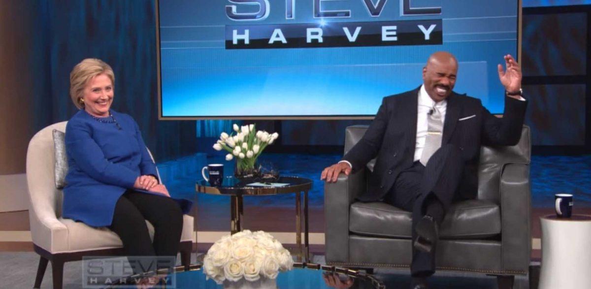 Hillary Steve Harvey scripted