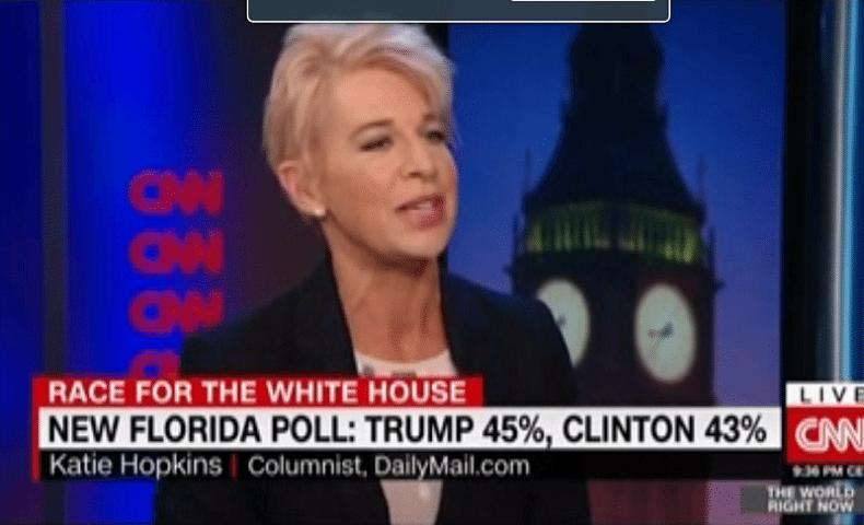 UK Daily Mail Hopkins Clinton News Network CNN