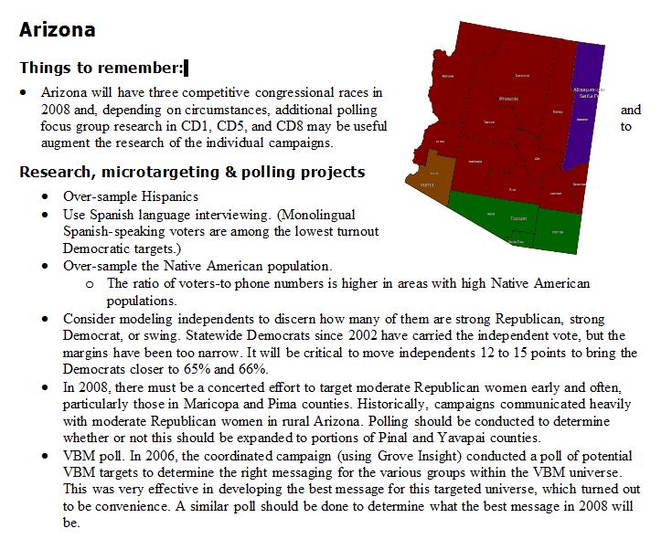 rigged oversample polls