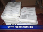 discarded voter guides