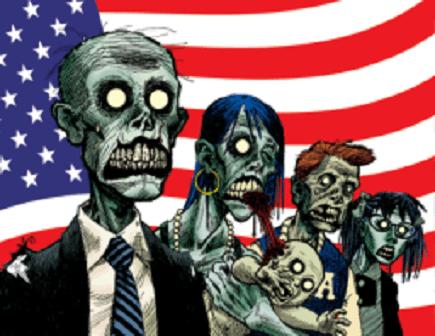 Zombie America. (Screenshot)