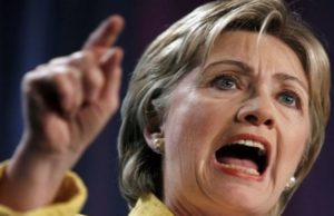 Hillary Clinton angry voters America lunacy politics