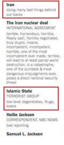 Hillary ad Trump insults ISIS