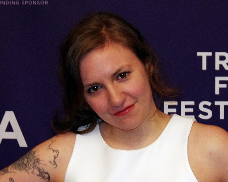 Lena Dunham celebrities Canada