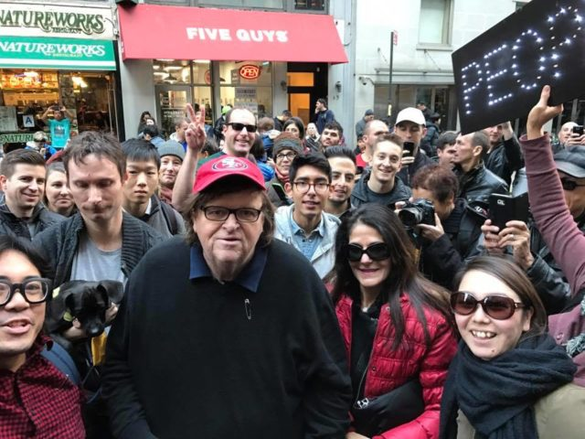Michael Moore insurrection protest