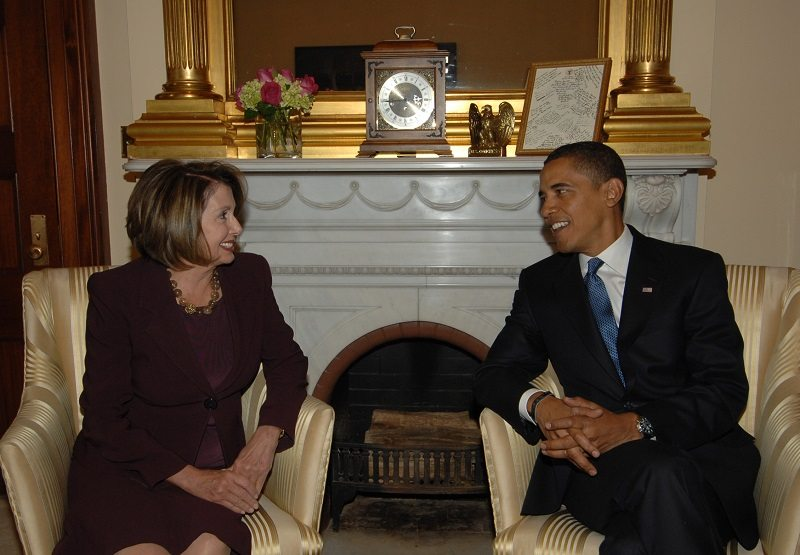 liberals obama pelosi freak out