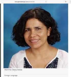 senora-sepulveda-glendale-high-school