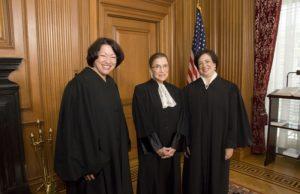 Justices KAgan sotomayor ginsburg