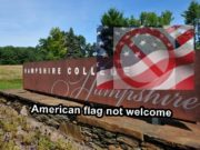College refuses to fly U.S. flag