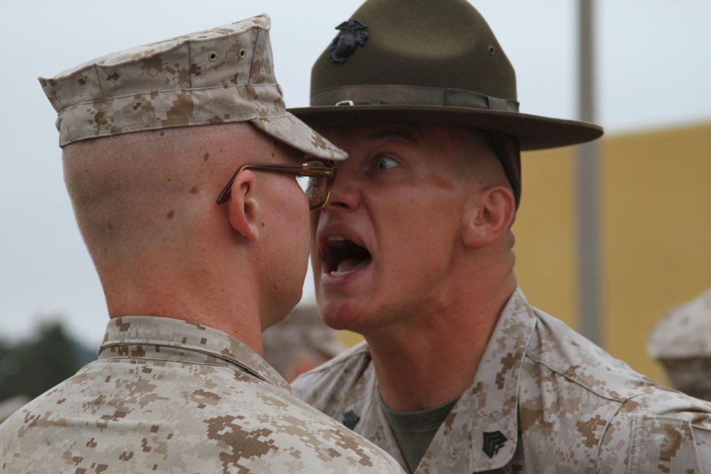 A thing of the past? Obama's new and improved Marine Corps, 98 percent softer than before. (Imgur.com)