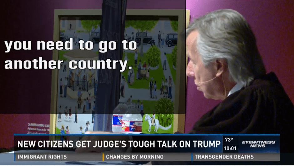 judge Trump leave