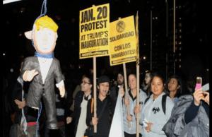 hang Trump in effigy