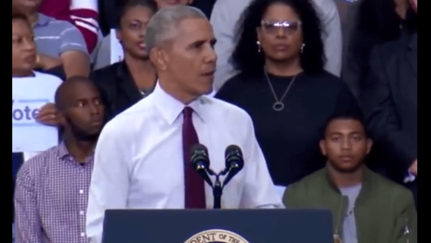 Obama loses cool yells at crowd to be quiet