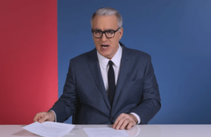 Olbermann flag burning threat