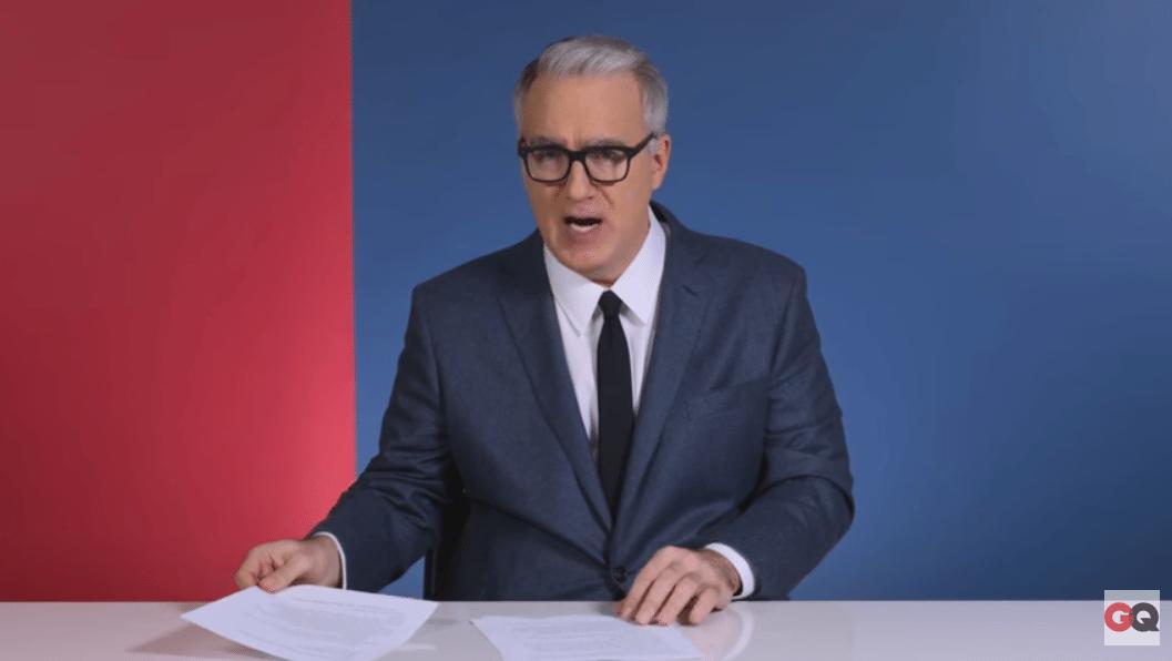 Olbermann flag burning threat