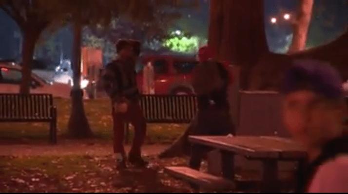 Portland riot vandalism donald trump