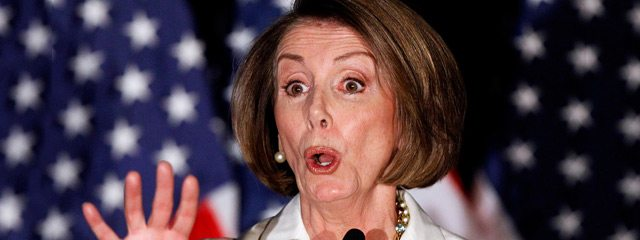 Nancy Pelosi - head Democrat perhaps best exemplifies the party's continued tilt to the left., (Twitter)