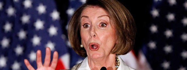 Nancy Pelosi - head Democrat. (Twitter)