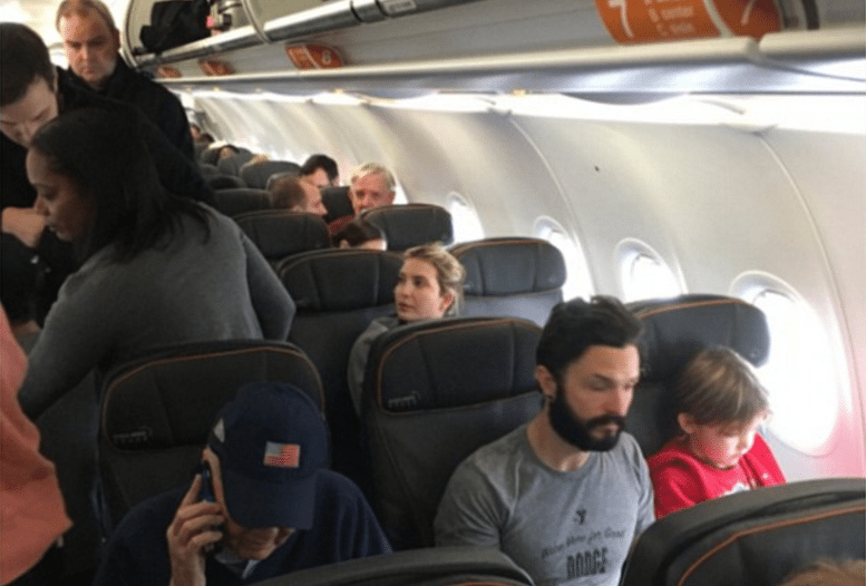 Ivanka berated on airliner by unhinged libs