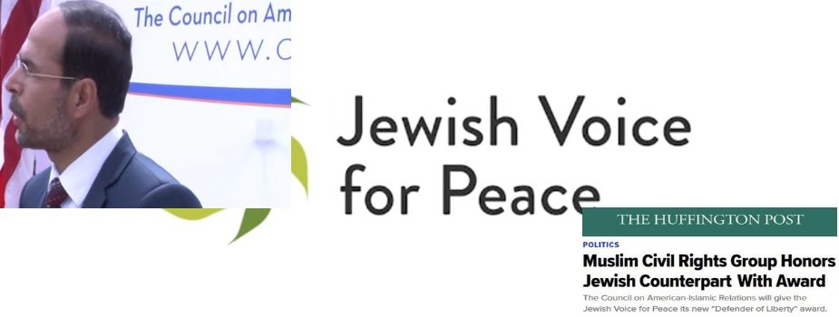 Evil Partners: CAIR, JVP, and the Huffington Post