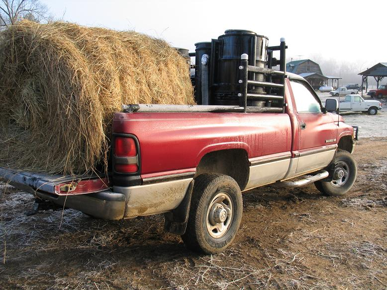 Farm vehicle that runs on wood gas. Technology for synfuel from coal is already a century old. (Wiki)