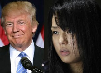 Trump, Sola Aoi China