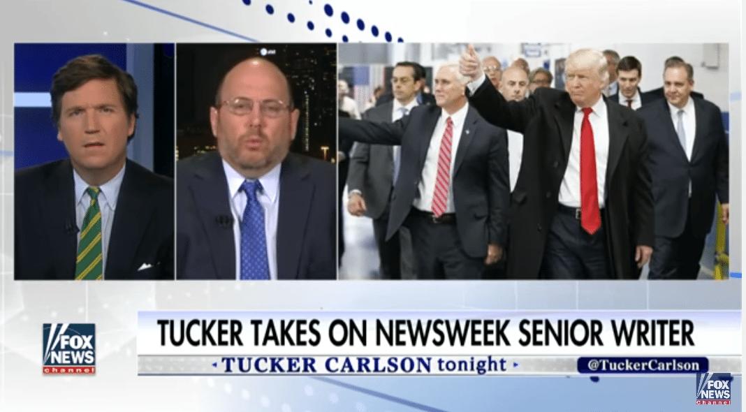 Carlson newsweek