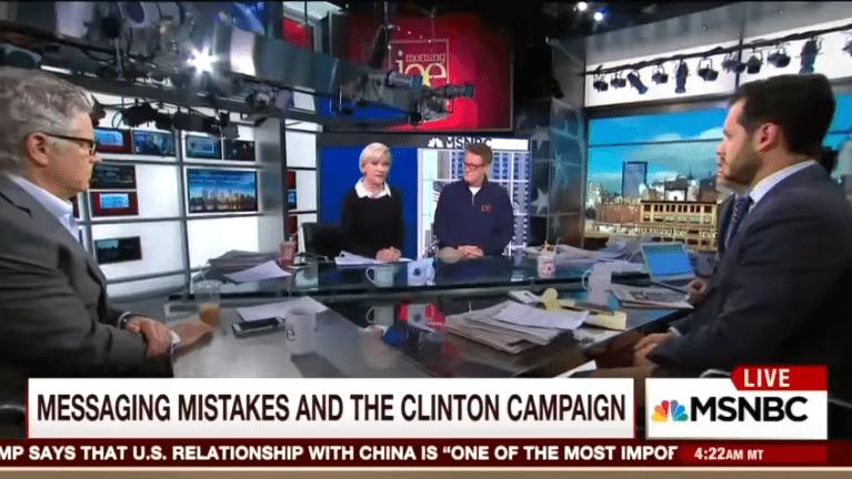 Mika Brzezinski, Hillary Clinton, censorship, MSNBC, pulled off air