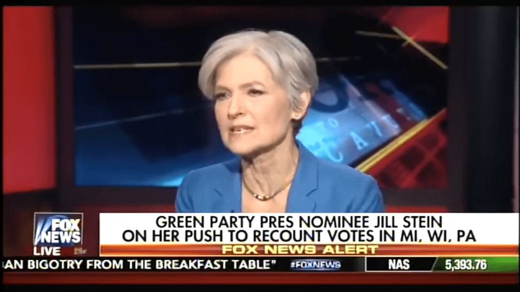Jill Stein floppy disks