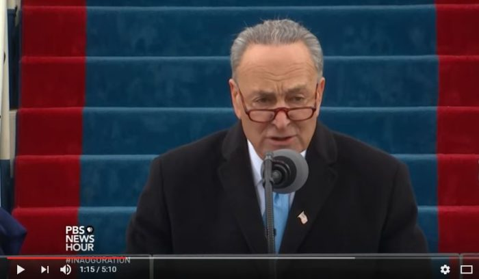 Sen. Charles Schumer (Screen snip YouTube, PBS)