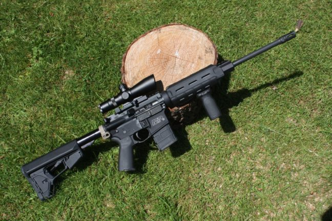 Washington State Attorney General Bob Ferguson wants to ban modern sporting rifles like this one. (Dave Workman)