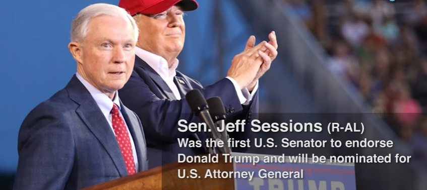 Sessions under Fire by the NAACP