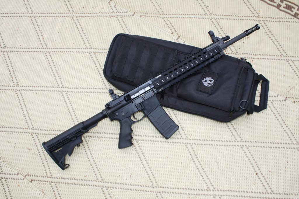 Confessed killer Allen Ivanov used a Ruger SR556 similar to this model to kill three teens in 2016. In court, he tried to blame gun laws for his crime. (Dave Workman)