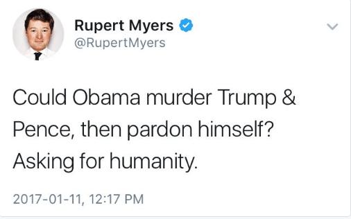 myers murder Trump